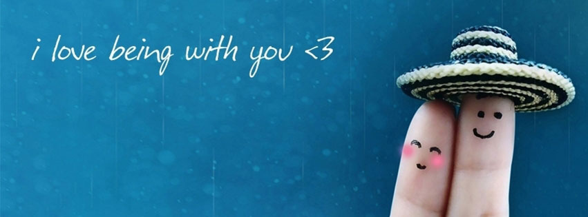 Cover Facebook I love being with you
