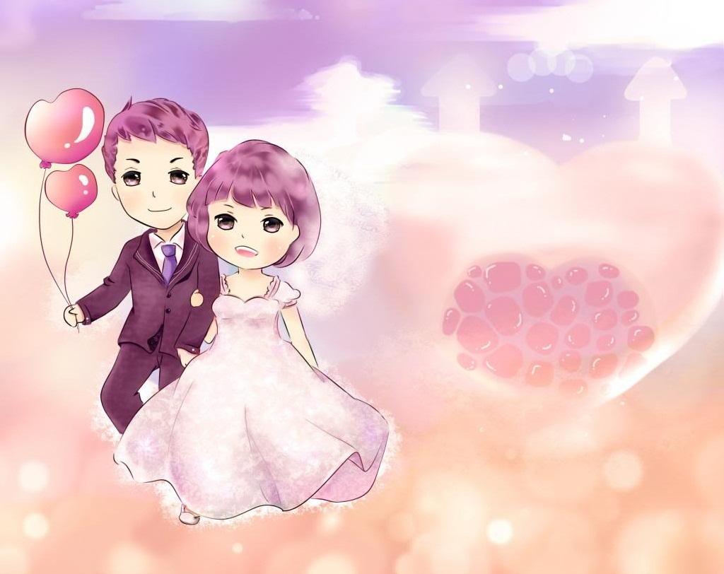 Ảnh avatar cặp đôi trên mây
