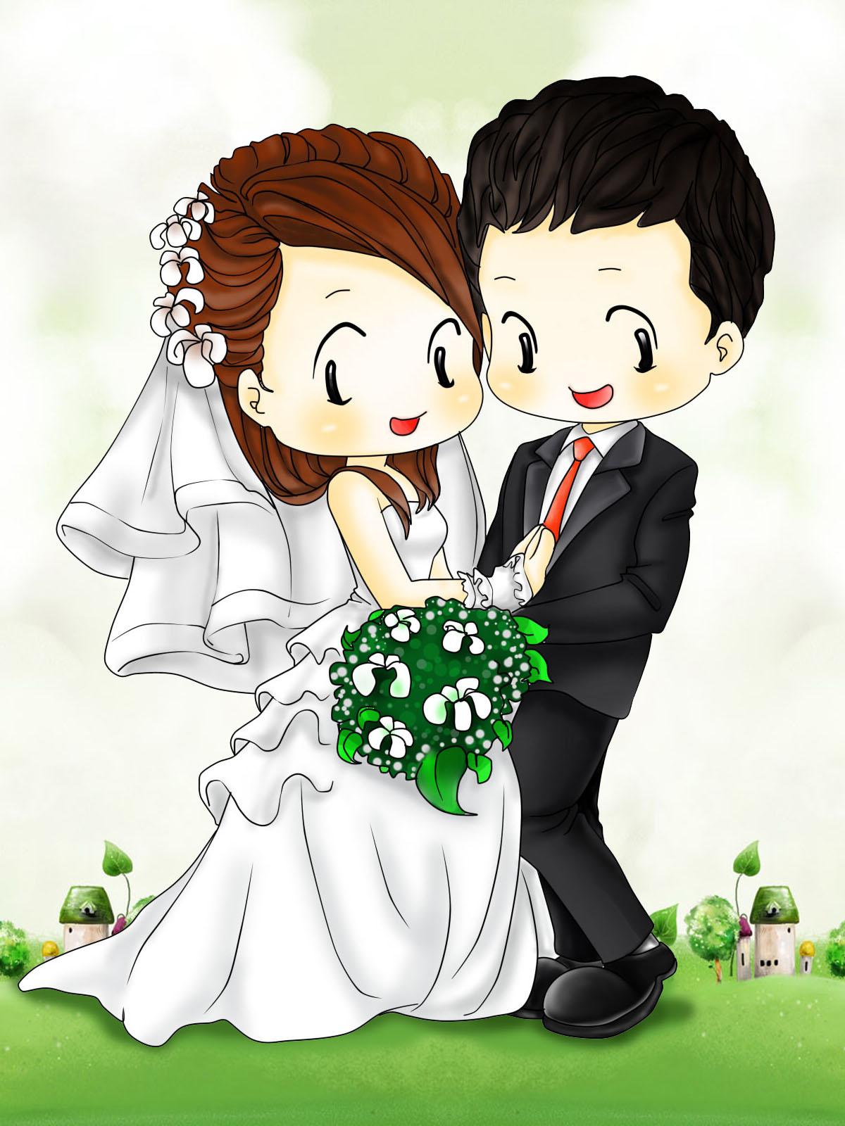 Ảnh avatar chú rể và cô dâu