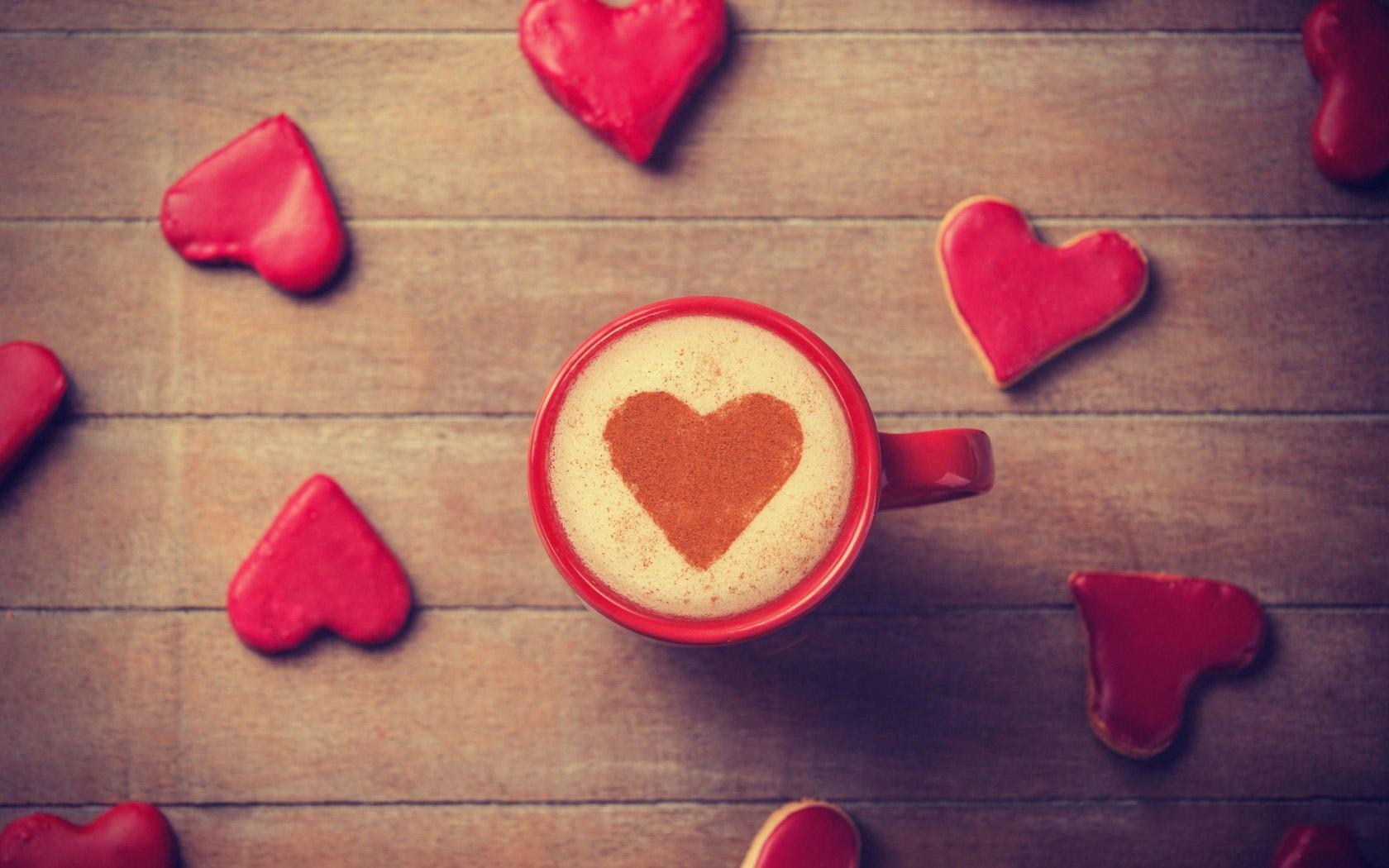 Ảnh avatar cốc cà phê tình yêu