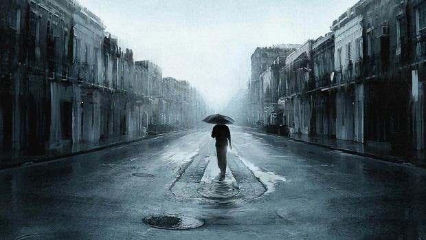Ảnh avatar dưới mưa