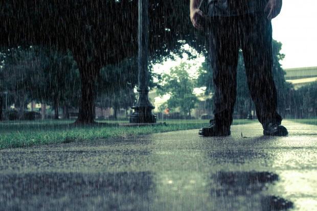 Ảnh avatar lạc bước dưới mưa