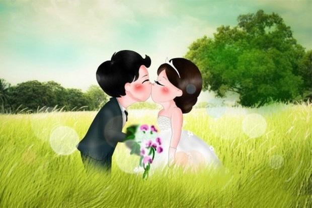Ảnh đại diện nụ hôn lãng mạn
