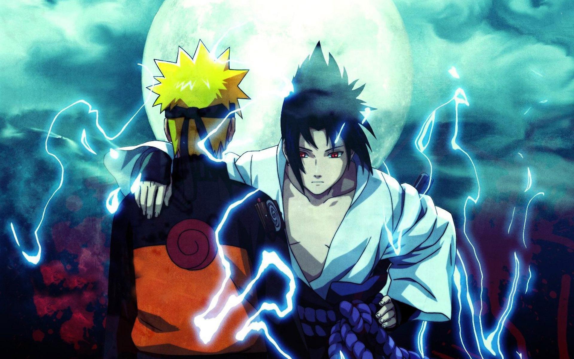 Ảnh naruto với sasuke