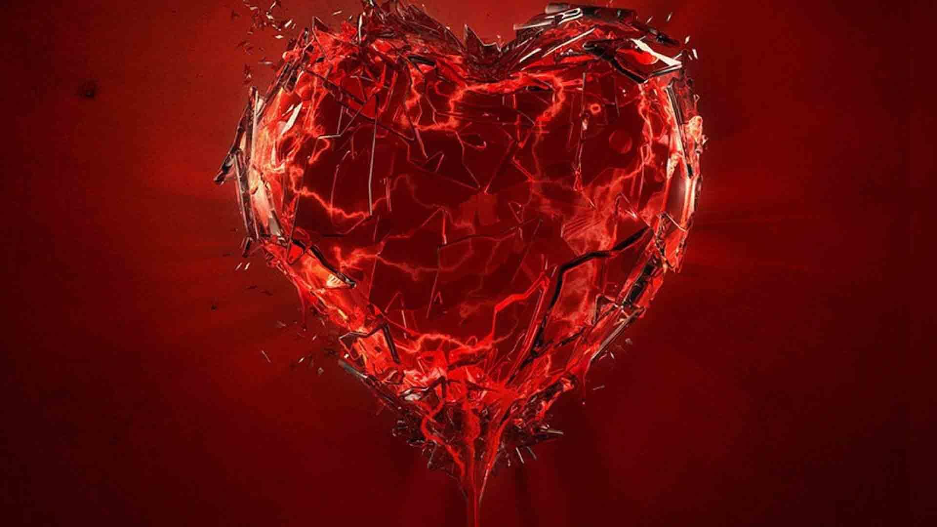 Ảnh trái tim vỡ