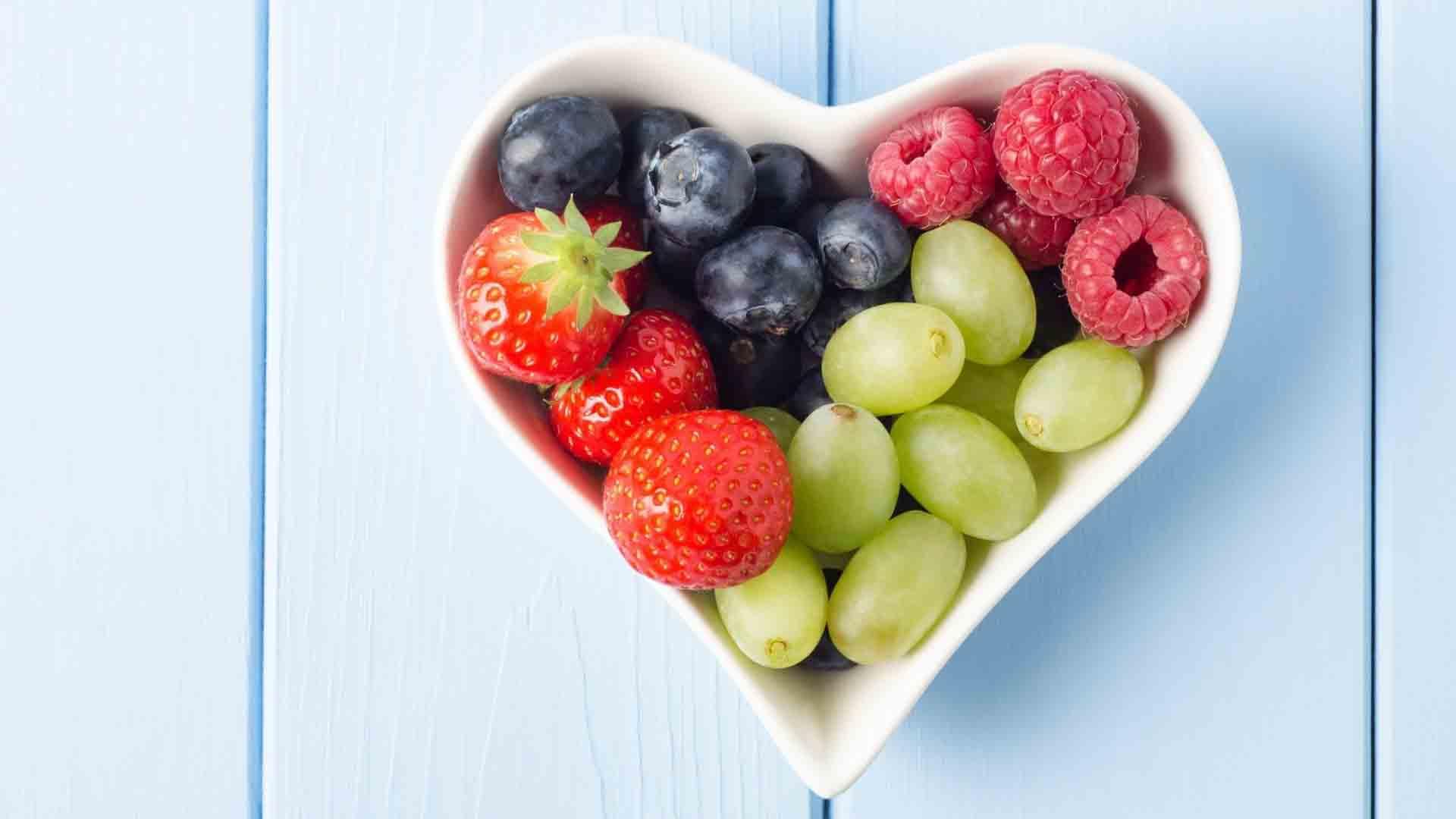 Hình ảnh hoa quả trái tim