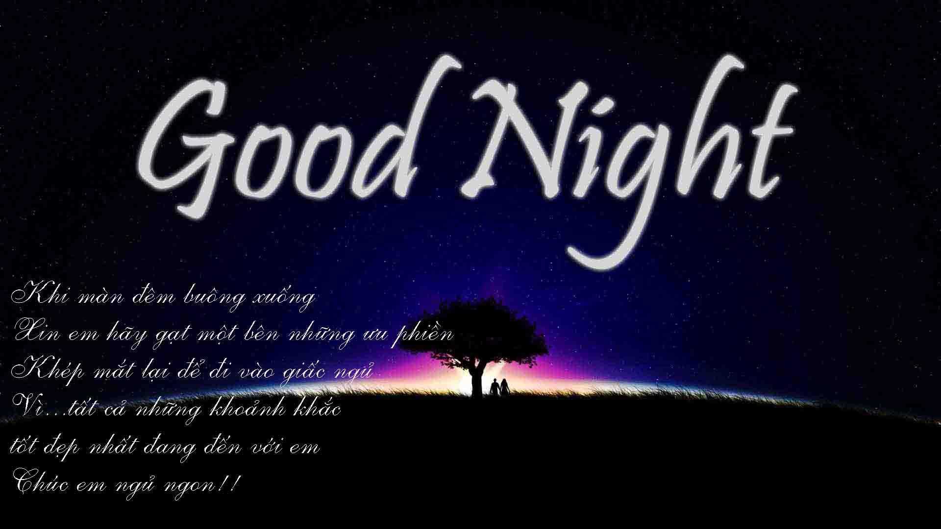 Ảnh good night hay