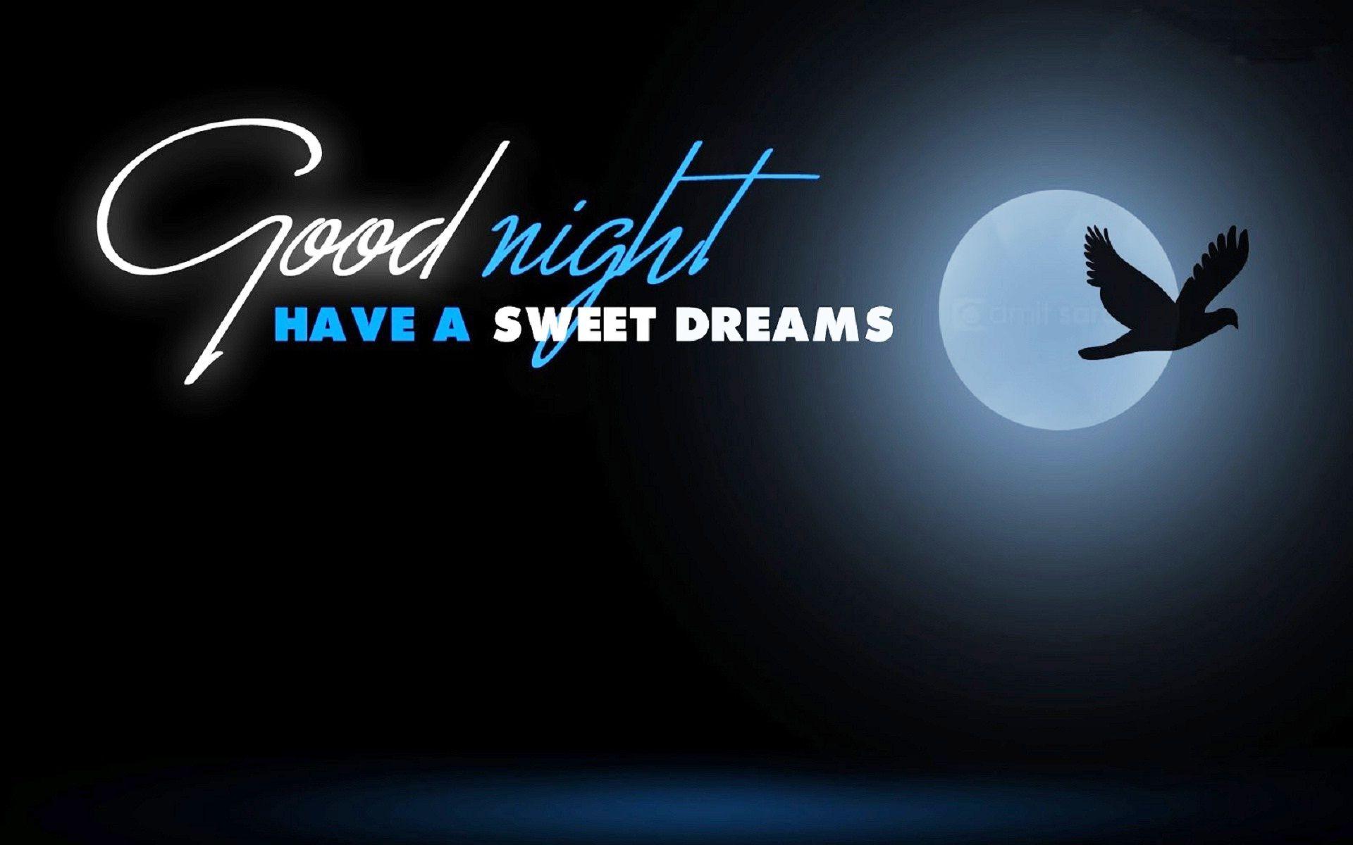 Ảnh good night trăng và bầu trời