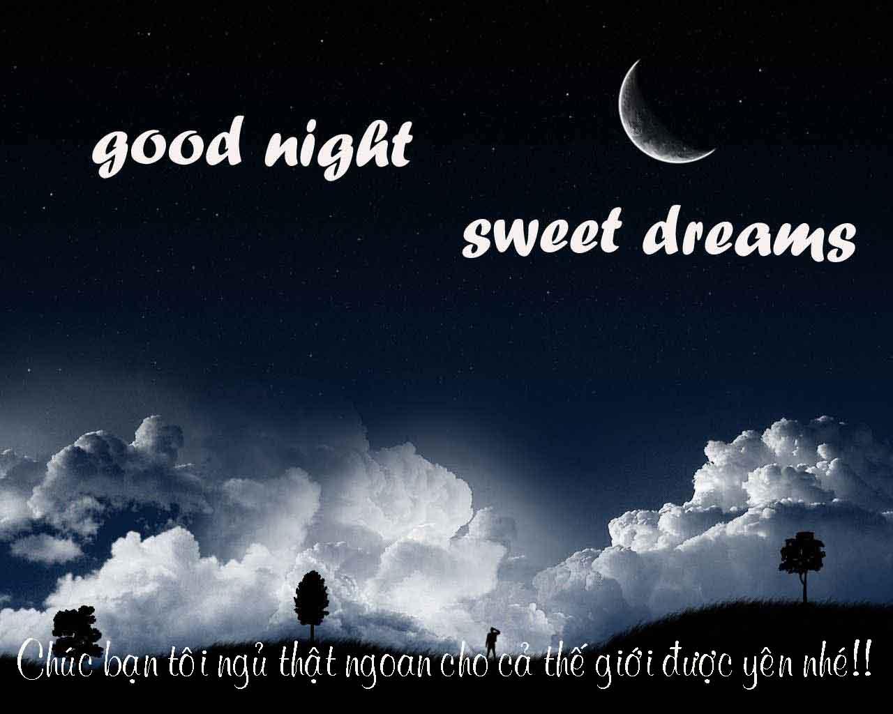 Ảnh good night và sweet dream