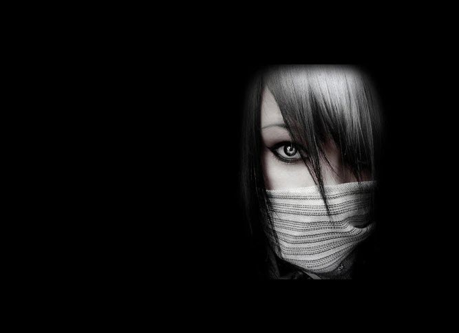 Avatar đen anime