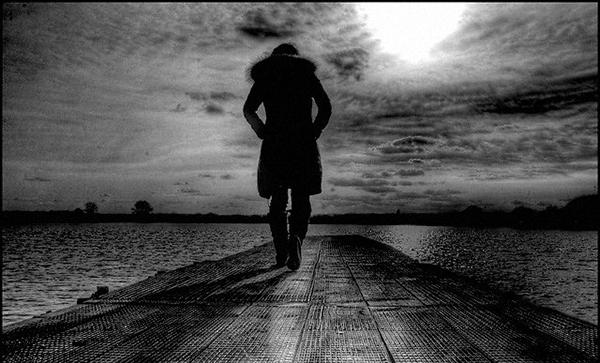 Avatar đen buồn, cô đơn