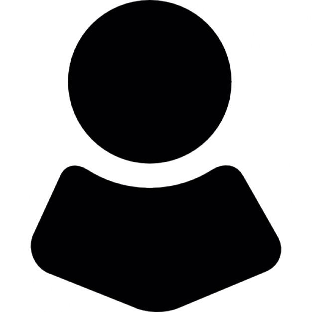 Avatar facebook màu đen