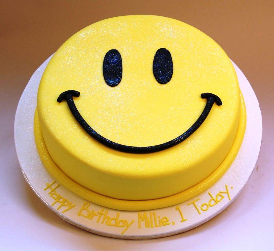 Bánh kem hình mặt cười