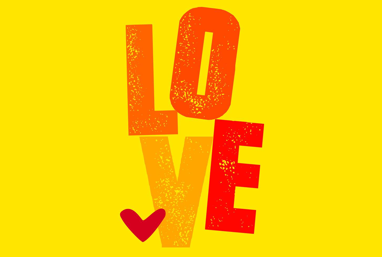 Hình ảnh chữ Love tình yêu đẹp nhất