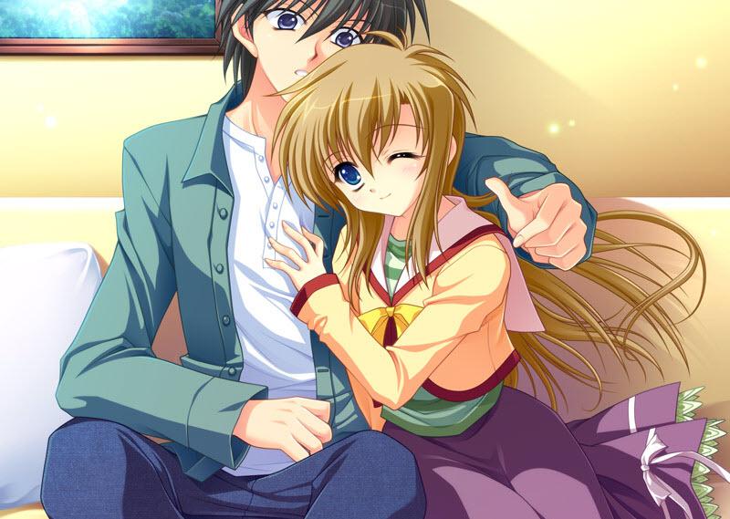 Hình ảnh hoạt hình dễ thương về tình yêu (2)