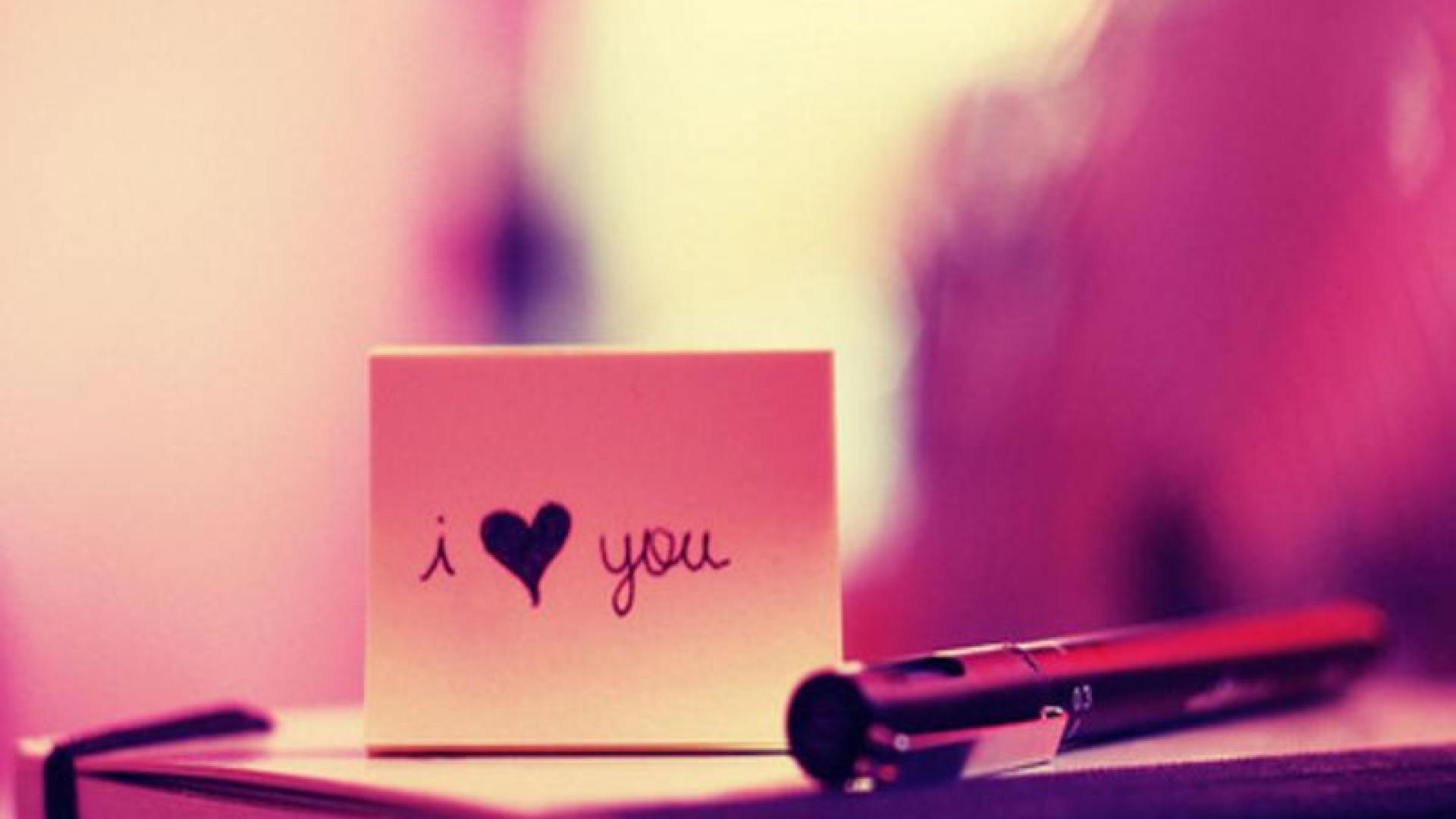 Hình ảnh I Love You đẹp