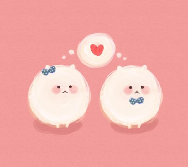 Hình ảnh tình yêu dễ thương cute nhất