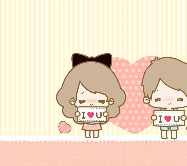 Hình ảnh tình yêu dễ thương cute