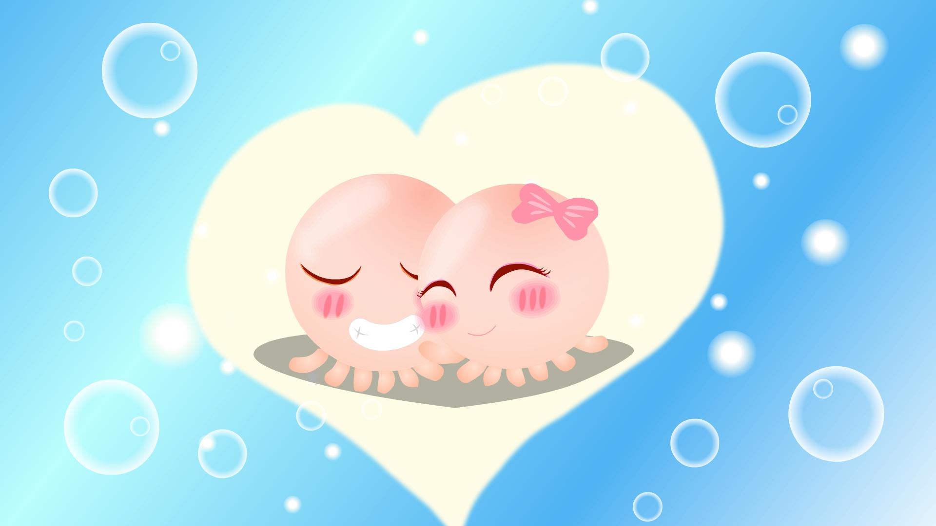 Hình ảnh tình yêu ngộ nghĩnh dễ thương