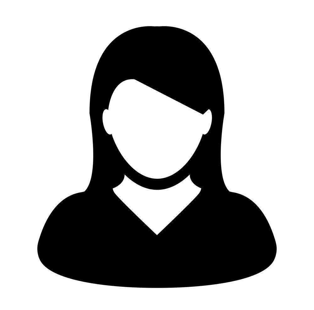 Hình avatar màu đen