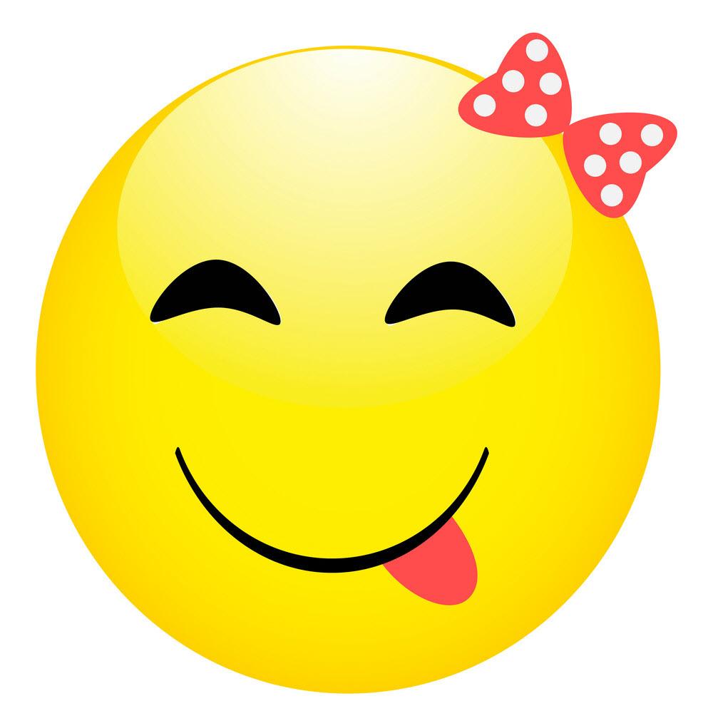 Hình mặt cười dễ thương (2)