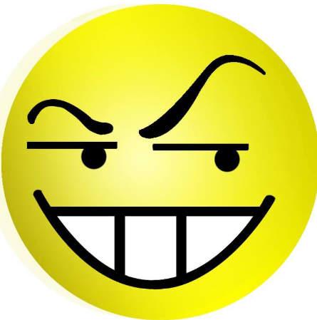 Hình mặt cười đểu