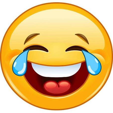 Hình mặt cười khóc (2)