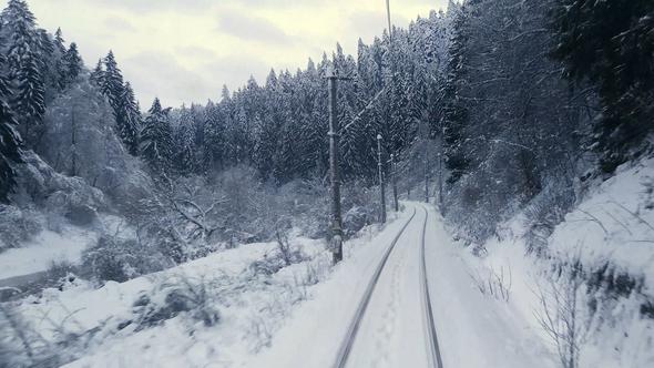 Hình mùa đông buồn