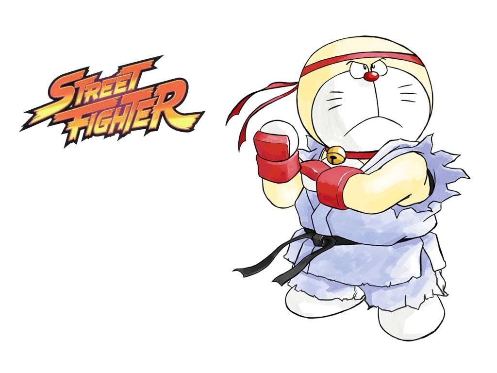 Ảnh chế doremon street fighter