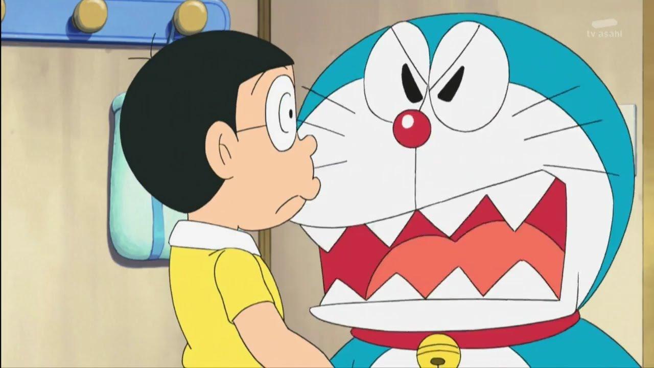 Hình ảnh doremon cáu giận