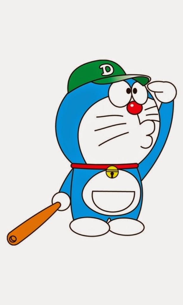 Hình ảnh doremon cầu thủ bóng chày
