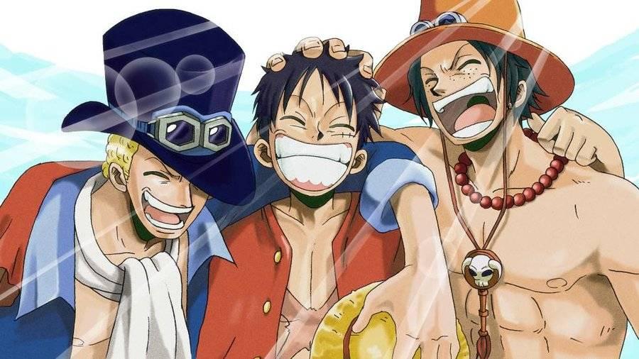 Hình ảnh bộ ba Luffy, Ace, Sabo đẹp nhất