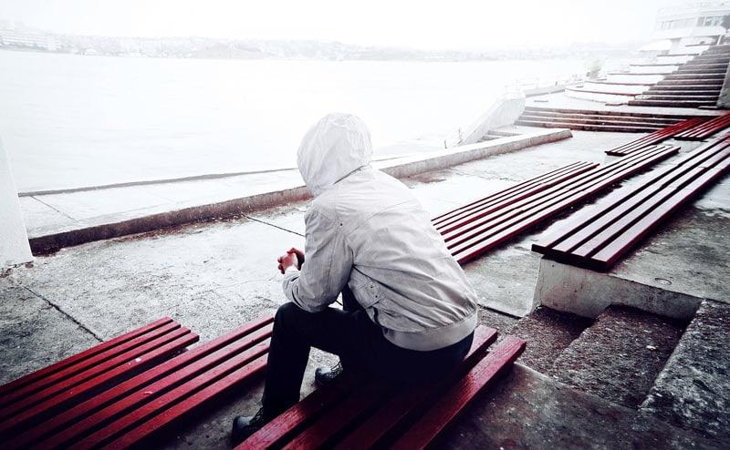 Hình ảnh cô đơn thất tình đẹp
