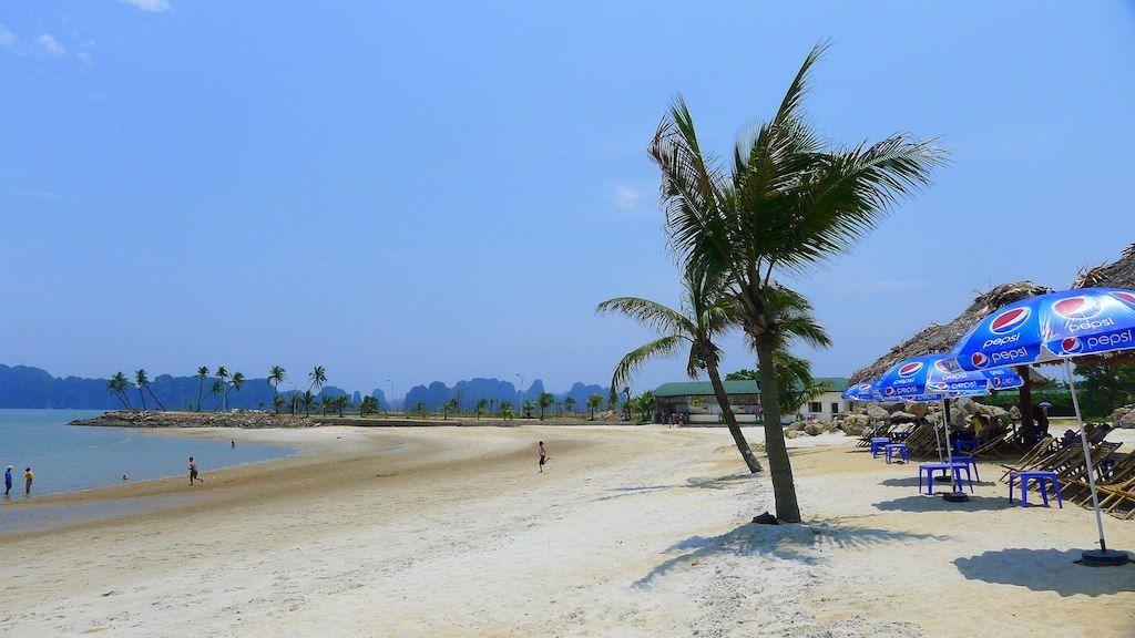 Ảnh đẹp bãi biển Tuần châu-Hạ Long