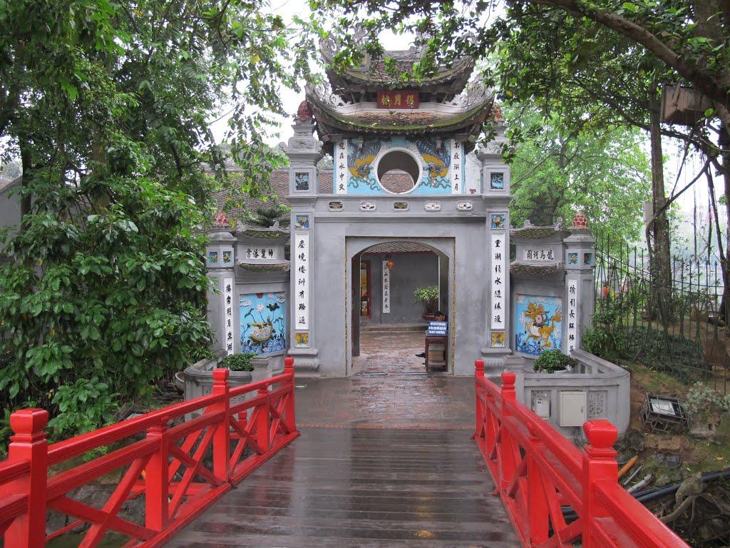 Ảnh đẹp cầu Thê Húc-đền Ngọc Sơn Hà Nội
