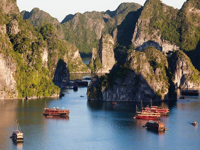 Ảnh đẹp du thuyền trên vịnh Hạ Long