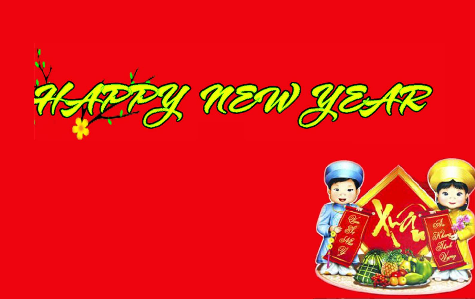 Ảnh đẹp nhất chúc mừng năm mới