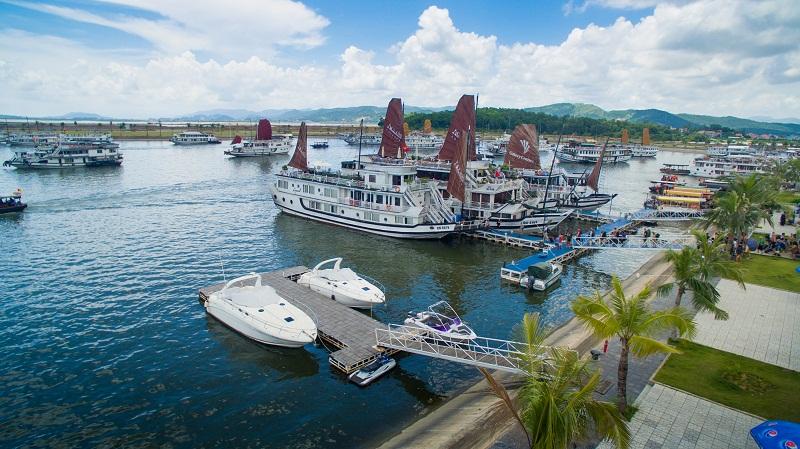 Ảnh du thuyền khu du lịch Tuần Châu-Hạ Long