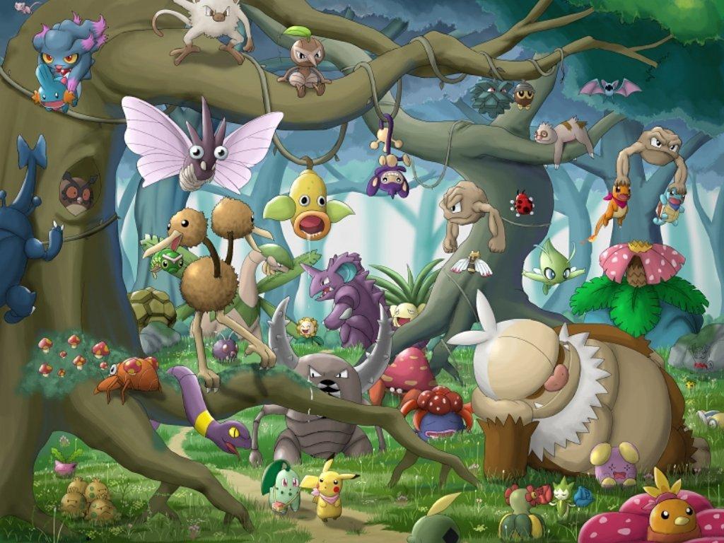 Ảnh khu rừng pokemon