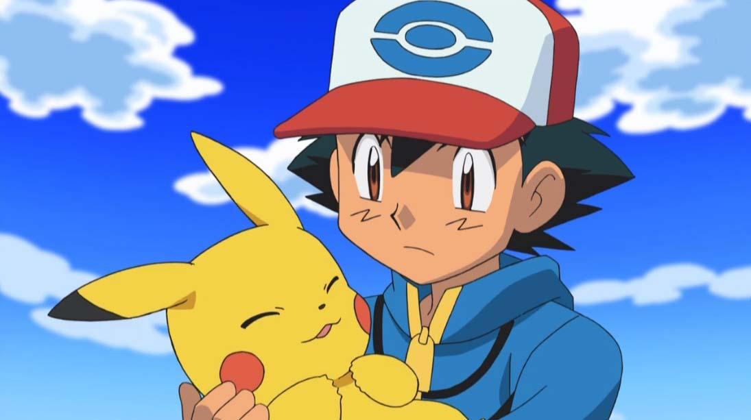 Ảnh pikachu satoshi dễ thương