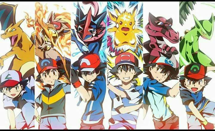 Ảnh pokemon mạnh của satoshi
