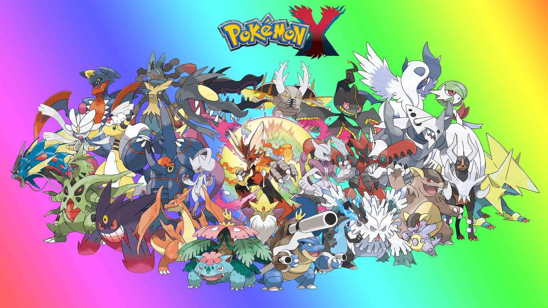Ảnh pokemon tiến hóa mega