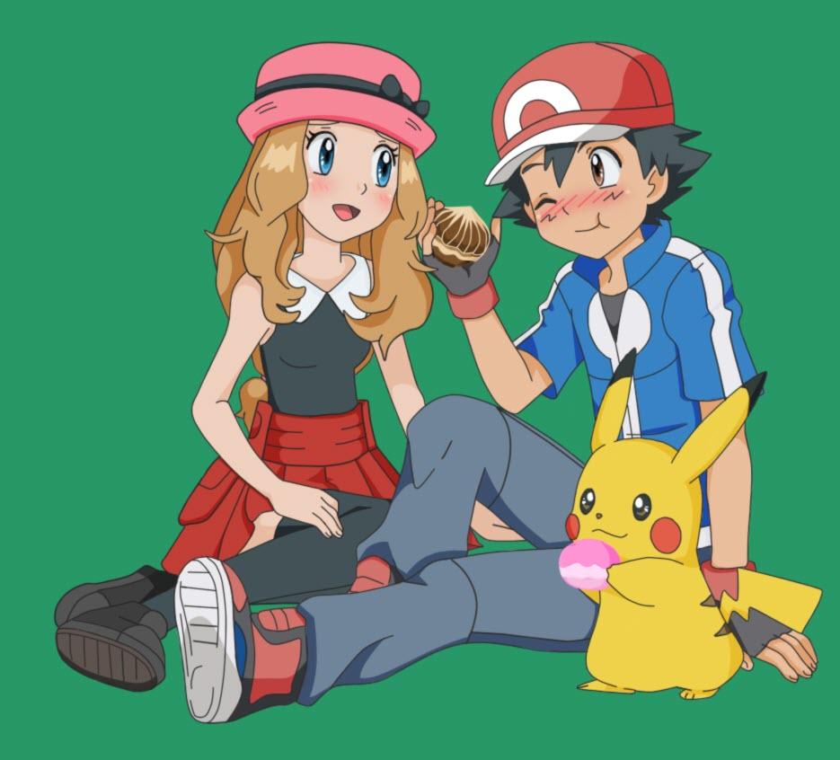 Ảnh satoshi pokemon đẹp đôi