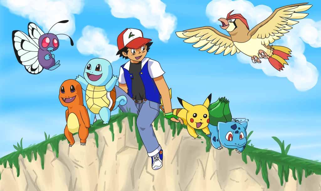 Ảnh satoshi pokemon