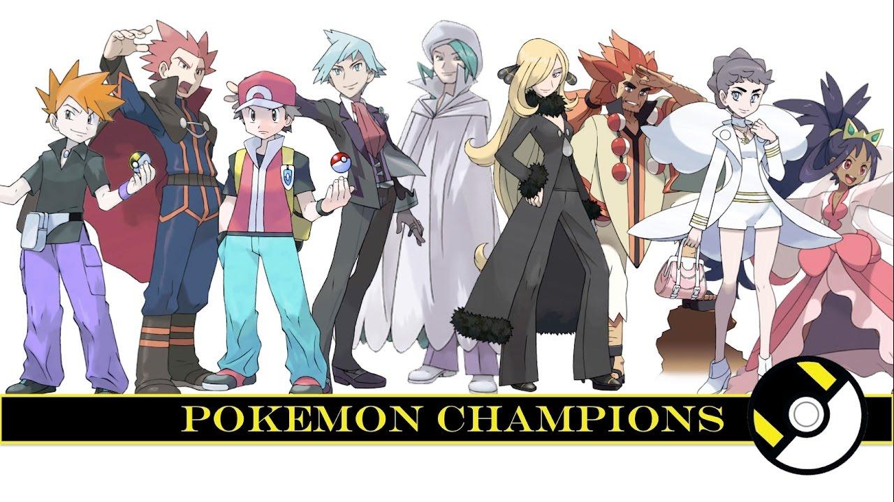 Ảnh tất cả nhà vô địch pokemon