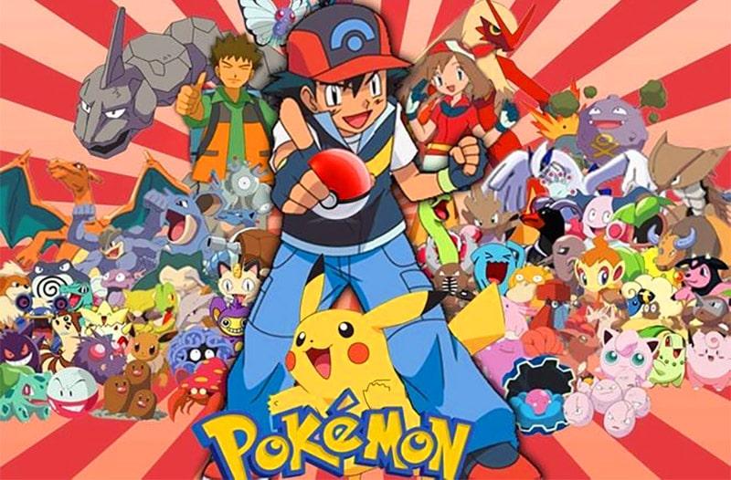 Ảnh thế giới pokemon của satoshi