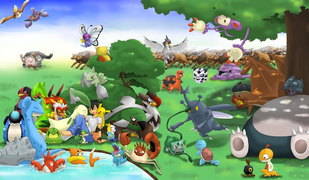 Ảnh thế giới pokemon