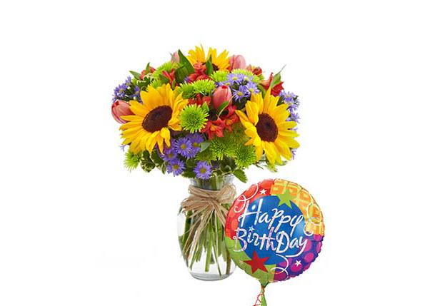 Hình ảnh bó hoa đẹp tặng sinh nhật