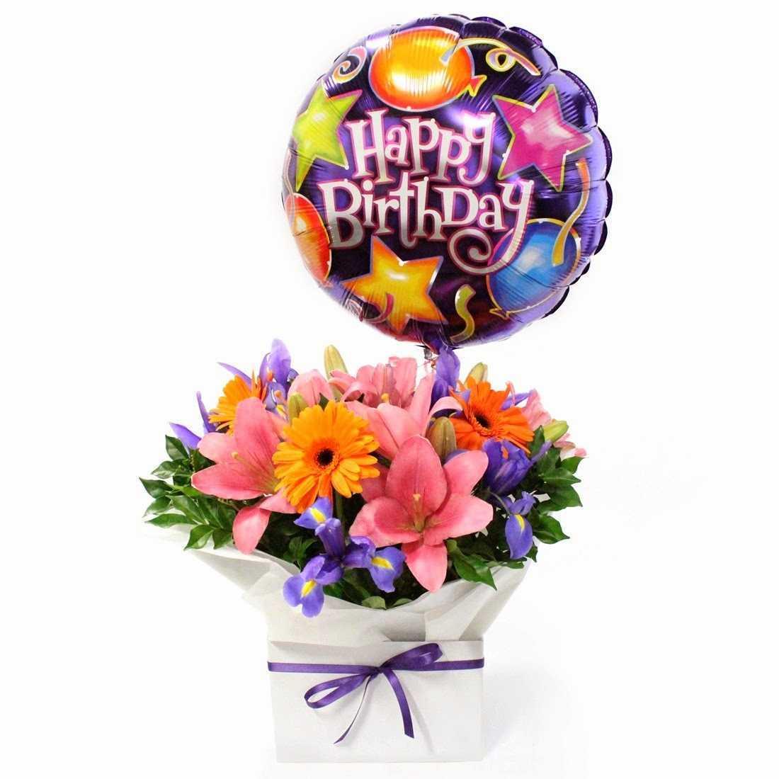 Hình ảnh bó hoa sinh nhật đẹp