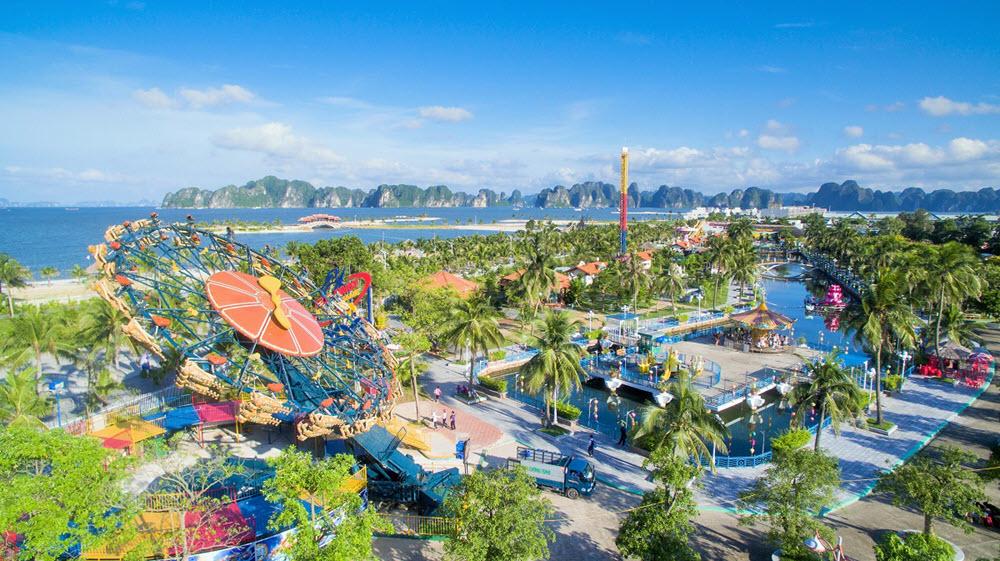 Hình ảnh đẹp một góc công viên Hạ Long